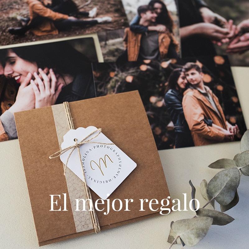 Caja regalo: sesión fotográfica para parejas